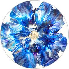 """Blooming Blue"" © Samantha Butcher"