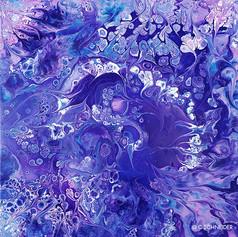 """""""Violet Swirled"""" © C Schneider"""