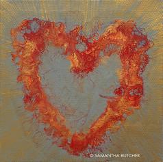 """Flaming Heart"" © Samantha Butcher"