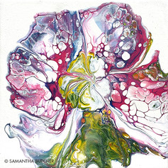"""Belle Fleur Trois"" © Samantha Butcher"