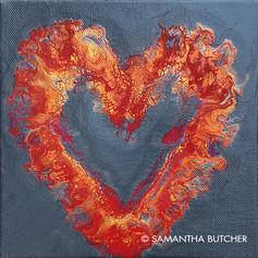 """""""Heart on Fire"""" © Samantha Butcher"""
