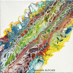"""Rainbow Snakeskin"" © Samantha Butcher"