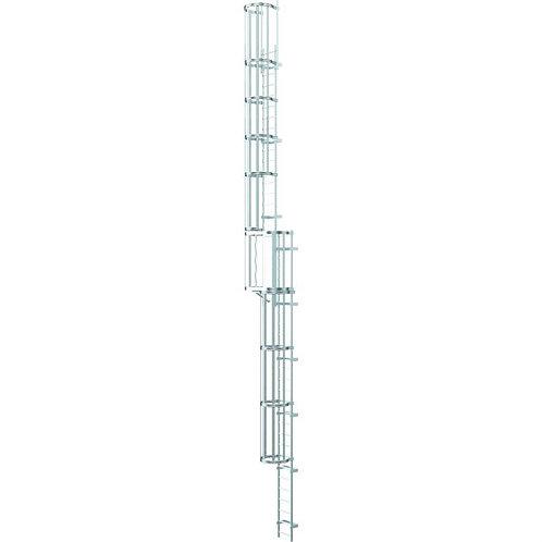 Многосекционные настенные лестницы (нержавеющая сталь) 16.8 м