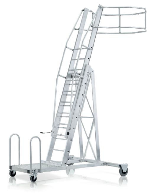 Лестница для подъема на вагон-цистерну, базовый модуль