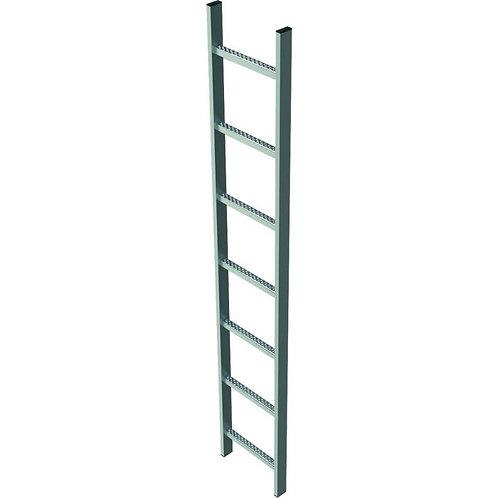 Шахтная лестница, сталь горячего цинкования, 2.8м (400мм)