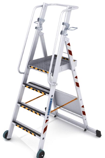 Топливозаправочная лестница ZAP R13master S 4 ступени