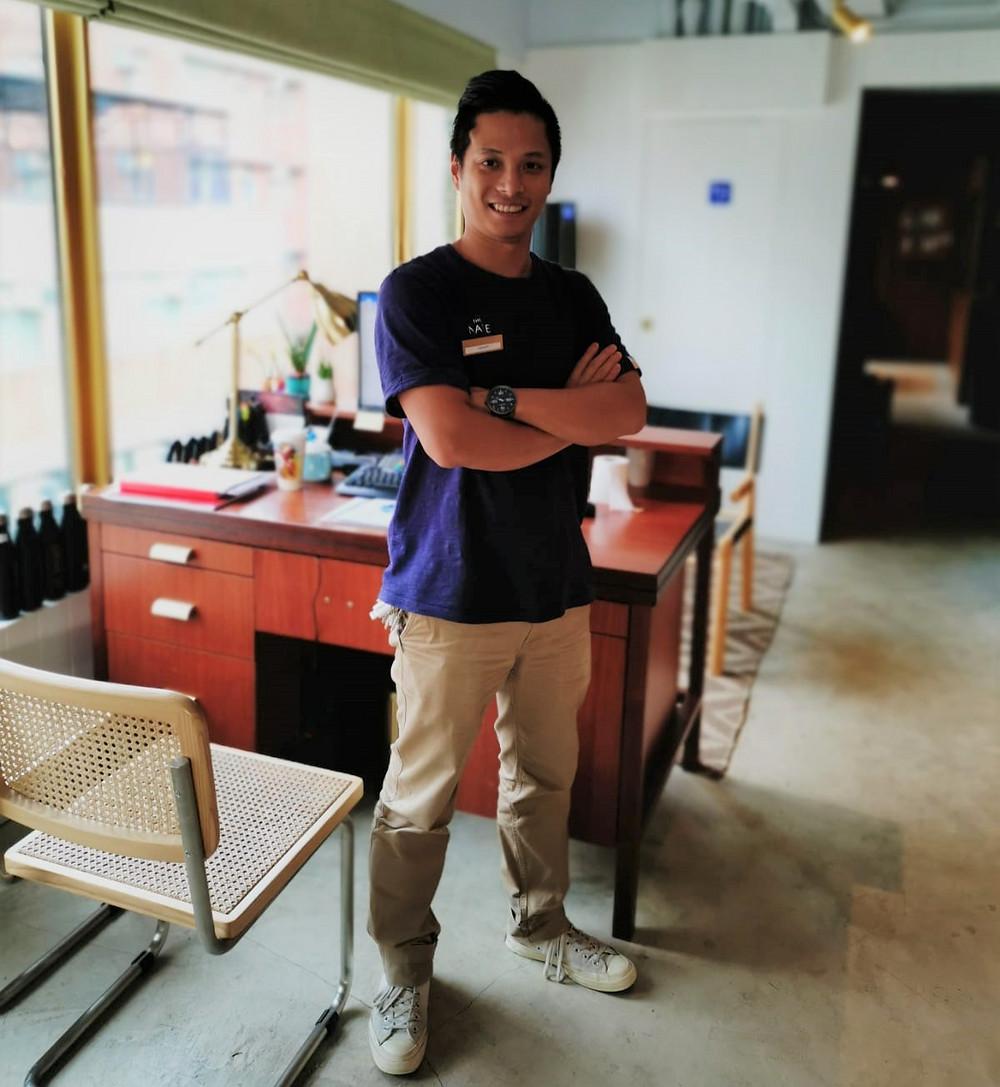 Jason Kwok, The Nate Property Manager