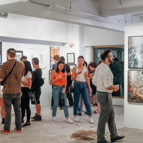 The Nate Pop Up Co-art Exhibition