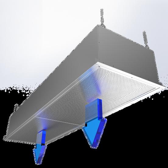 HCV - Vertical Supply air module