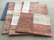 naturally dyed placemats