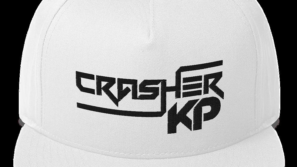 Crasher KP Logo Flat Bill Cap