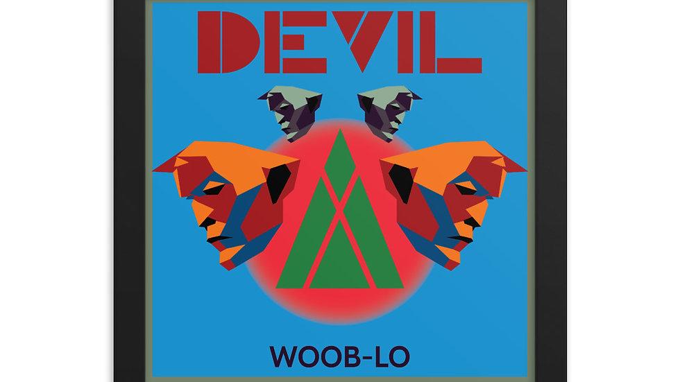 Woob-Lo - Devil Framed Poster