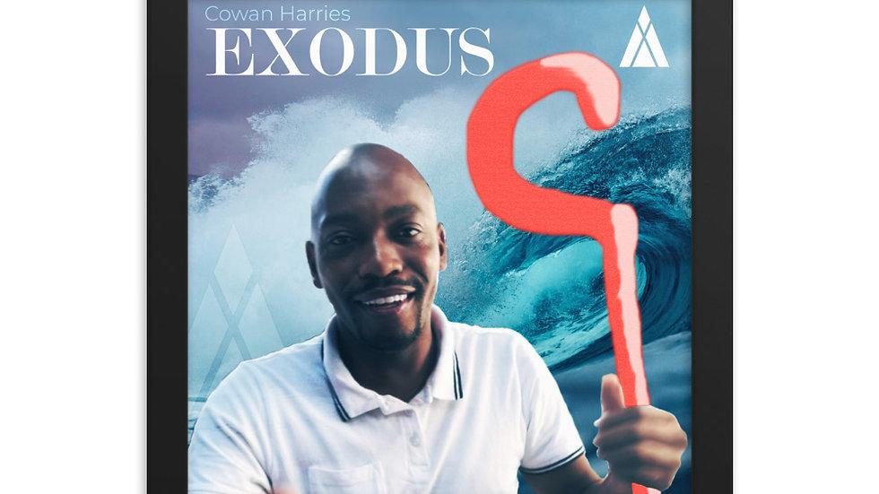 Cowan Harries - Exodus Framed Poster