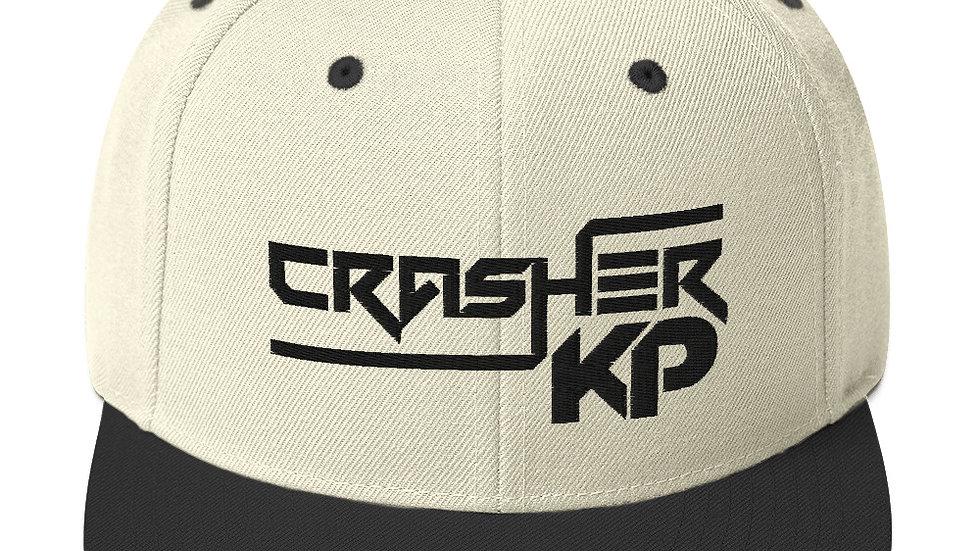 Crasher KP Logo Snapback Hat