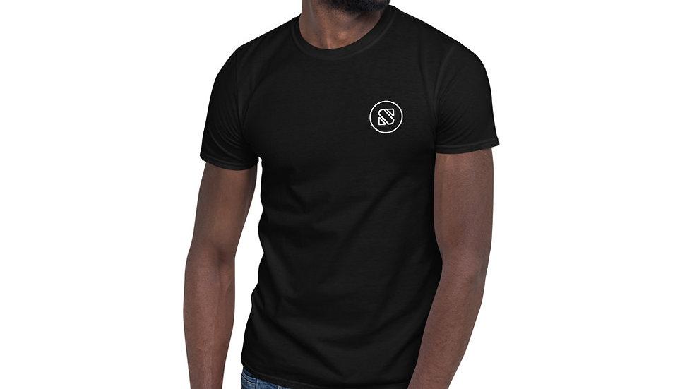 Skiller Glitch Short-Sleeve Unisex T-Shirt