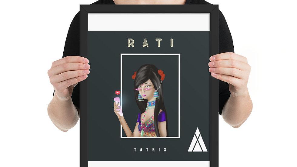 Tatrix - Rati Framed photo paper poster