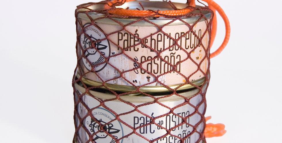 """Pack """"Nosa Ría"""" Especial. Ostra/Berberecho"""