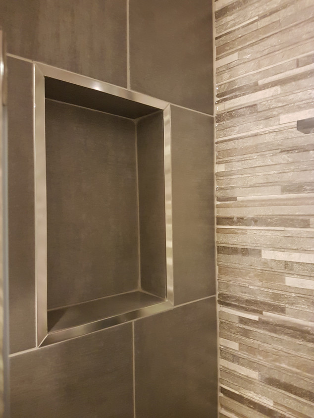 Shower soap niche