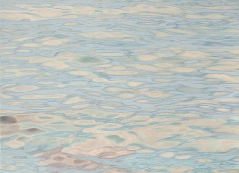 Wasser 1, 80x100 cm Öl auf Nessel 2011