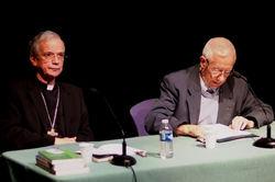 Mgr de Berranger et le Père Segalen
