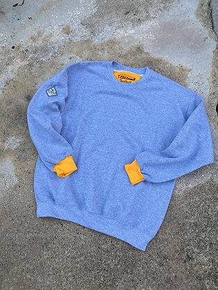 Yellow/Grey Logo Sweater (solo)