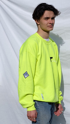 Lime/Safety Green Unisex Logo Sweater