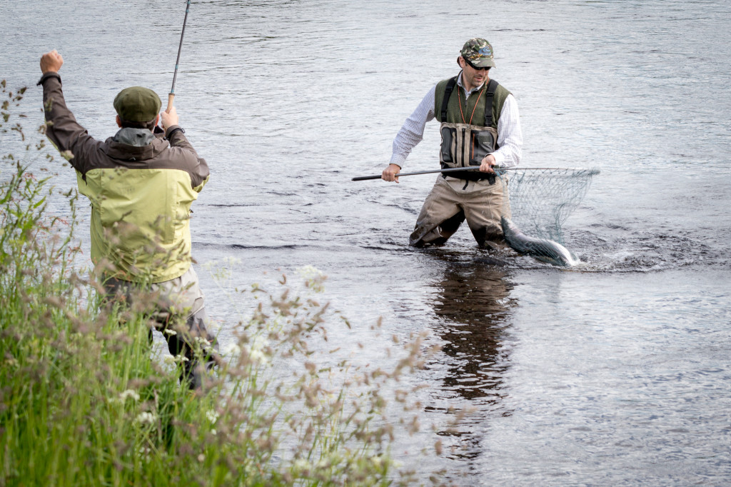 Salmon Fishing River Spey Scotland