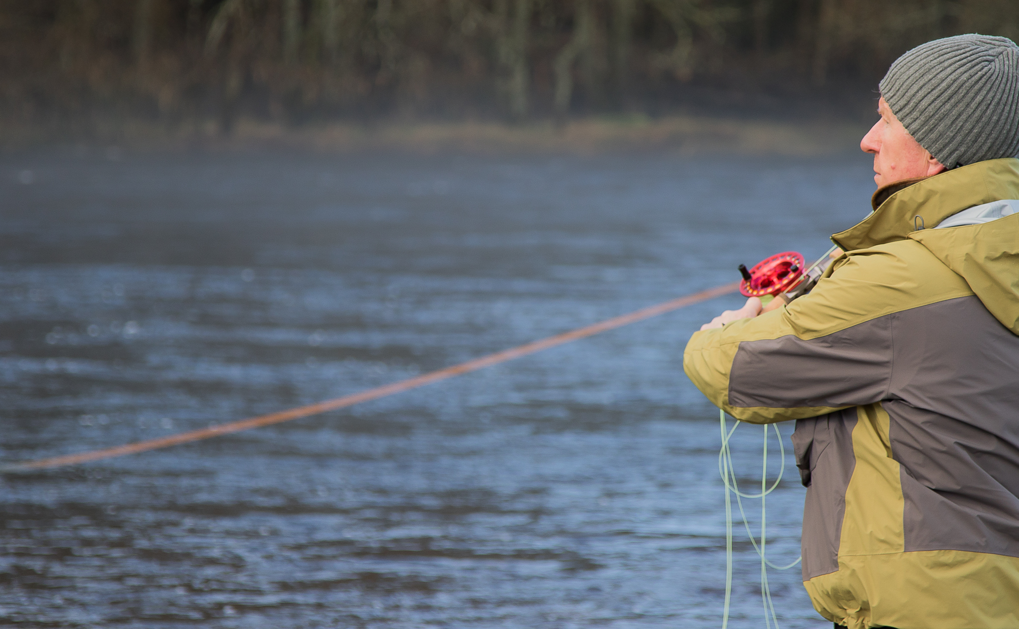 Salmon Fishing River Tummel Scotland