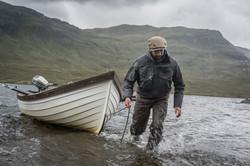 Corin Mooring the Boat 2