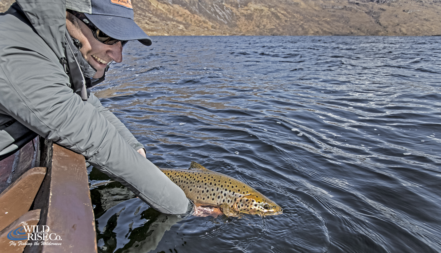 Brown Trout Fishing Scotland