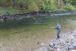Salmon Fishing River Dee Sco