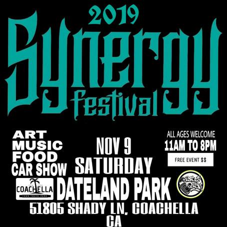 Synergy Music And Arts Festival, Coachella Ca