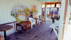 motel patio