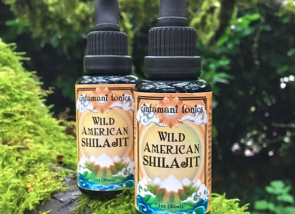 Wild American Shilajit Solution