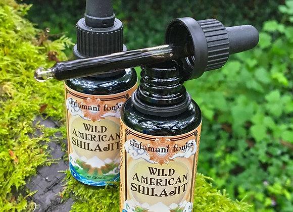 Wild American Shilajit Solution: 2 Bottle Set