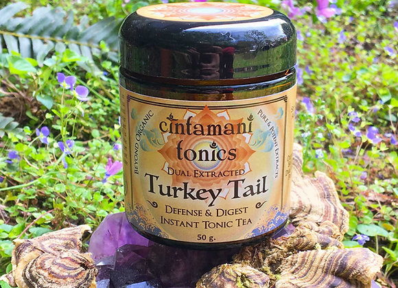 Turkey Tail Dual Extract ~ Pure Fruiting Body