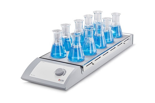 Multiple position hotplate magnetic stirrer MS-M-S10 for 10X0.4 liters