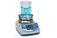 Magnetic stirrer Hot plate Agimatic-Rev-TFT-C up to 10 liters, 350°C