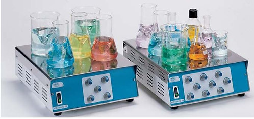 "Multiple position magnetic stirrers ""Multimatic"" for 5 or 9 positions"
