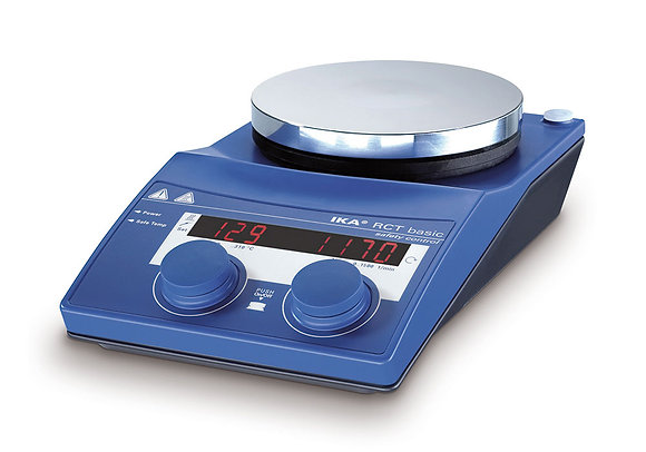 Magnetic stirrer Hot plate RCT/RET Basic up to 20 Liters