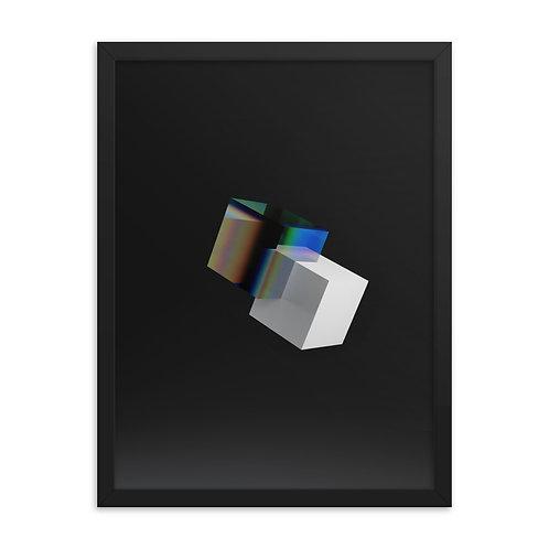 Glass Cube - White