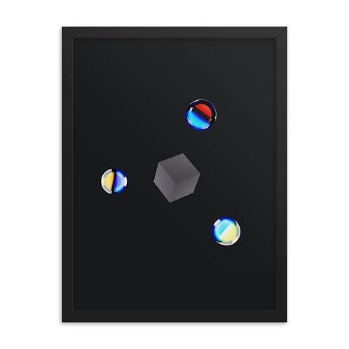 Cube x 3 Orbs - Black