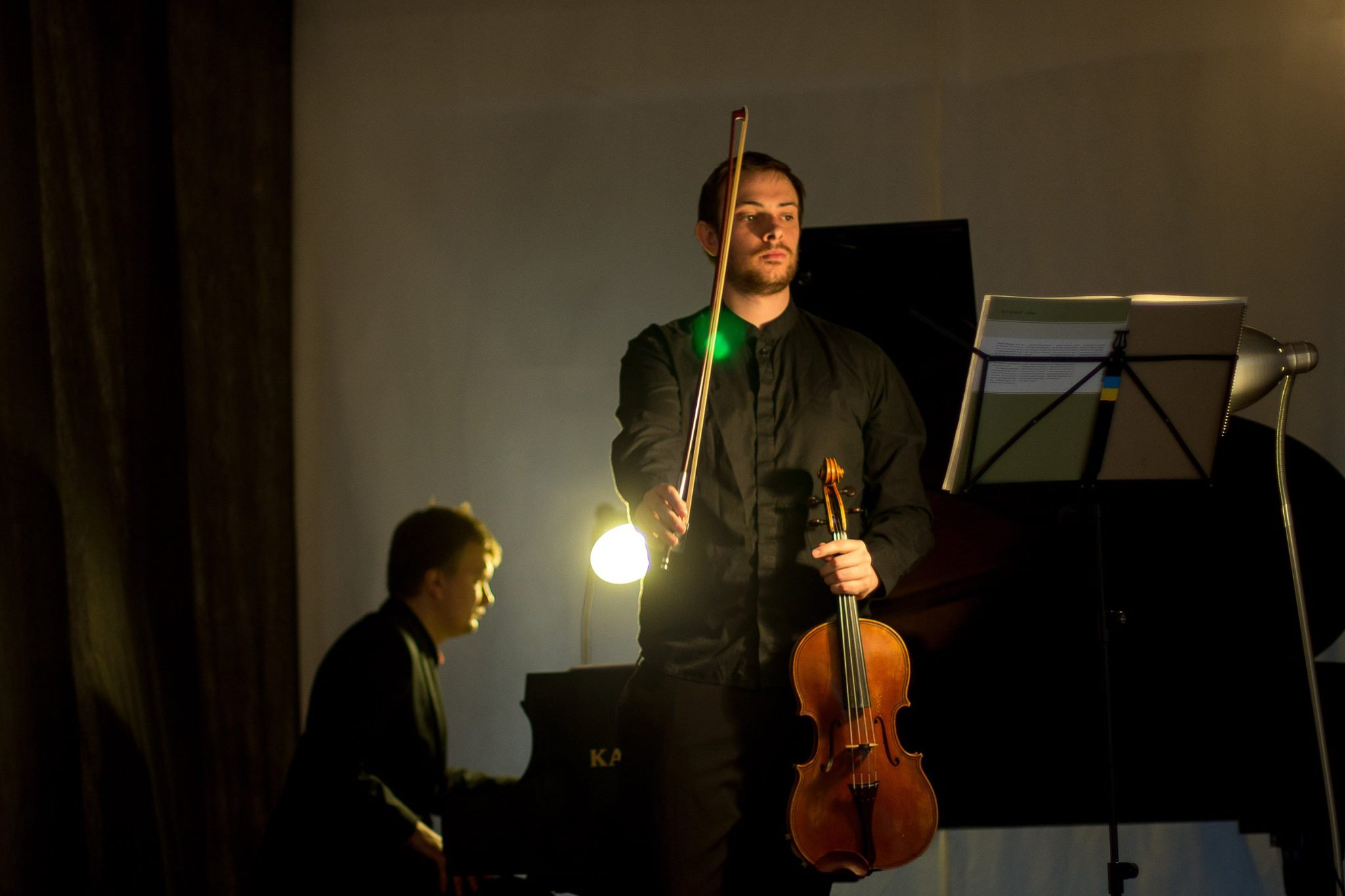 Duo with Vitaliy Kyianytsia
