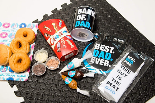 Love you Dad / Fathers Day Donut DIY Gift Kit