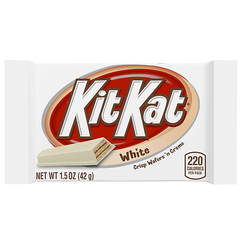 Kit Kat White 4 fingers
