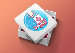 daddy donuts donut box