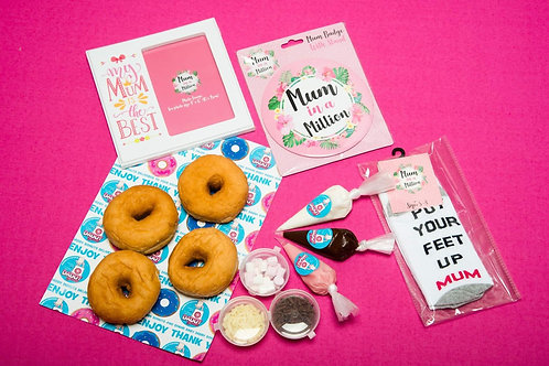 Love you Mum / Mothers Day Donut DIY Gift Kit