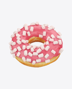 doughuts with marshmallows