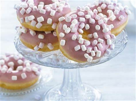 donuts with marshmallows