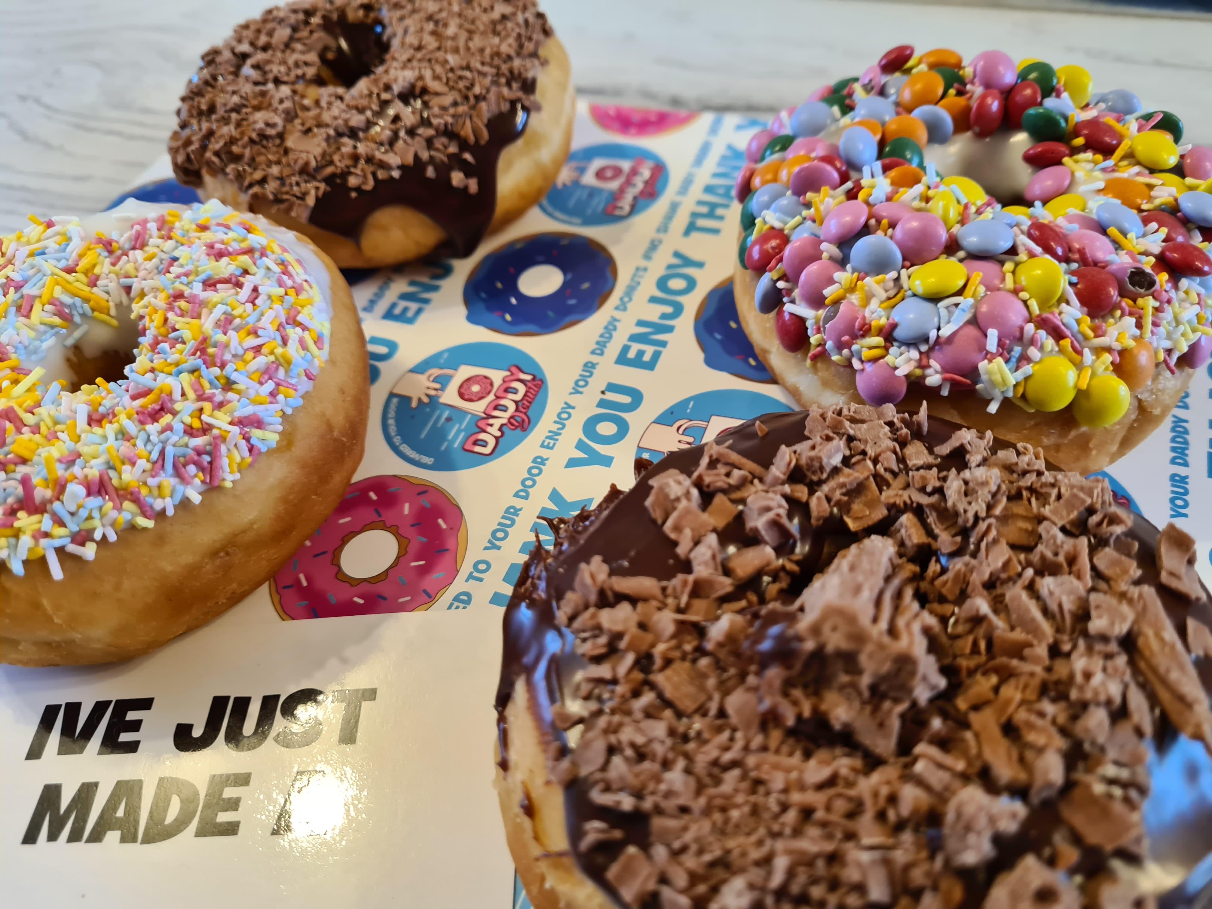 daddy donuts DIY